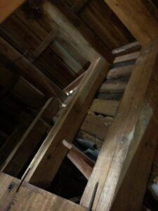 雨漏り 天井裏 画像