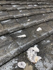 屋根 劣化 画像